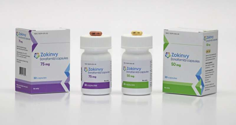 1st drug for rare rapid-aging disease extends kids' lives