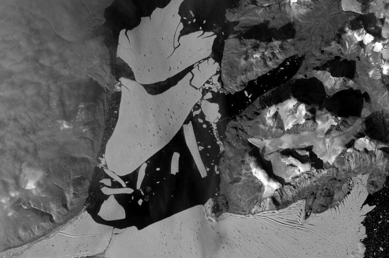 A big chunk of Greenland's ice cap has broken off