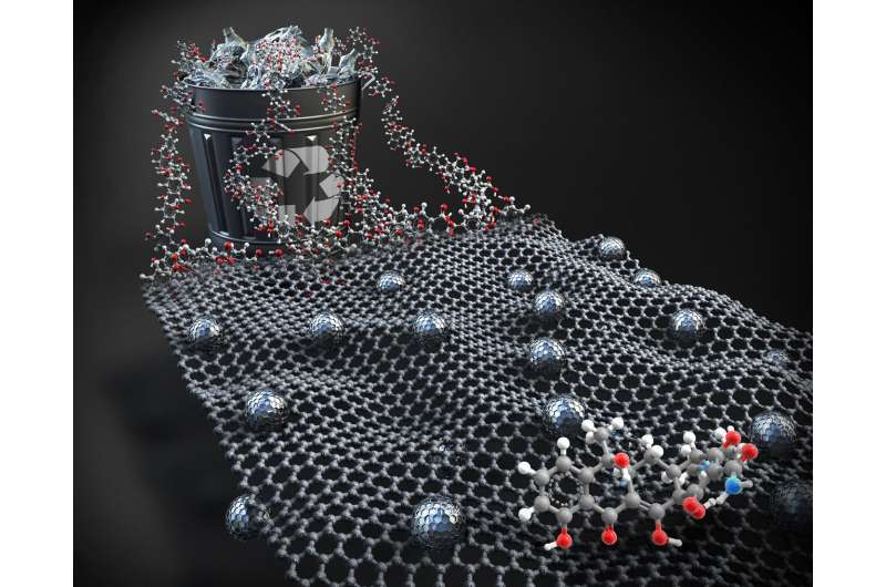 Adsorbent material developed with PET bottles for the removal of antibiotics from water
