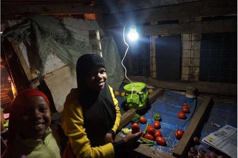 A green battery for home use in rural Africa