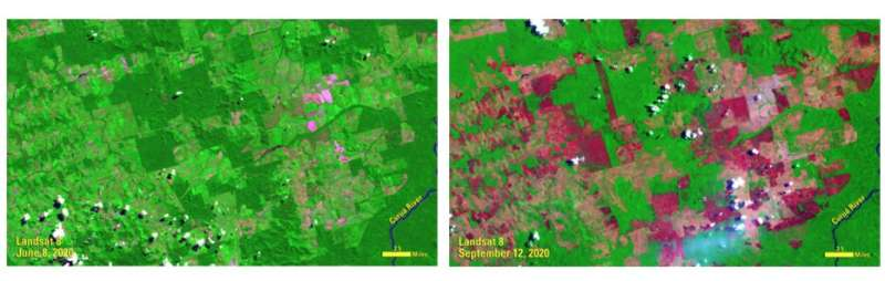 AGU panel explores environmental impacts of the COVID-19 pandemic, as observed from space