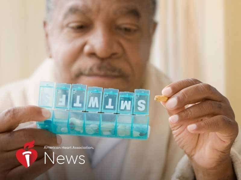 AHA news: black adults aren't getting right meds for tough-to-treat high blood pressure