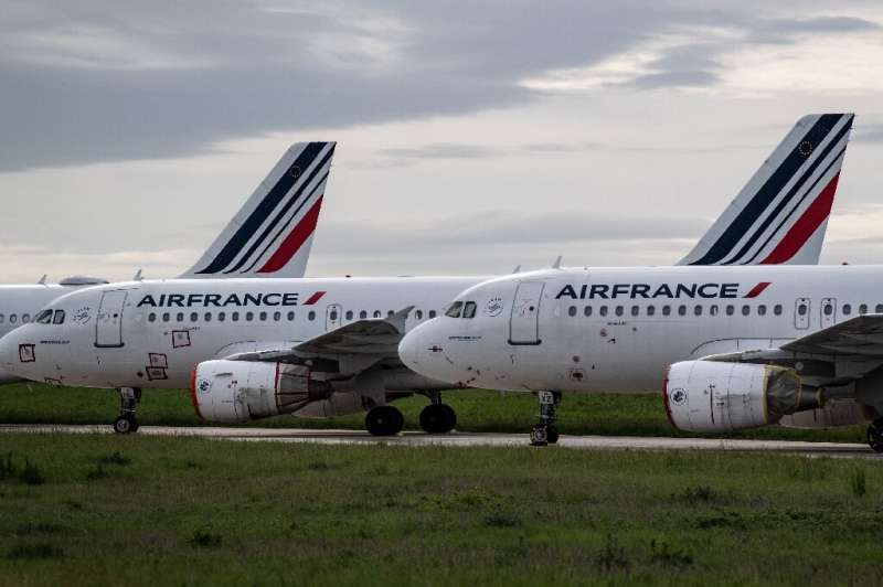 Air France has suffered a significant reduction of its services amid the coronavirus crisis