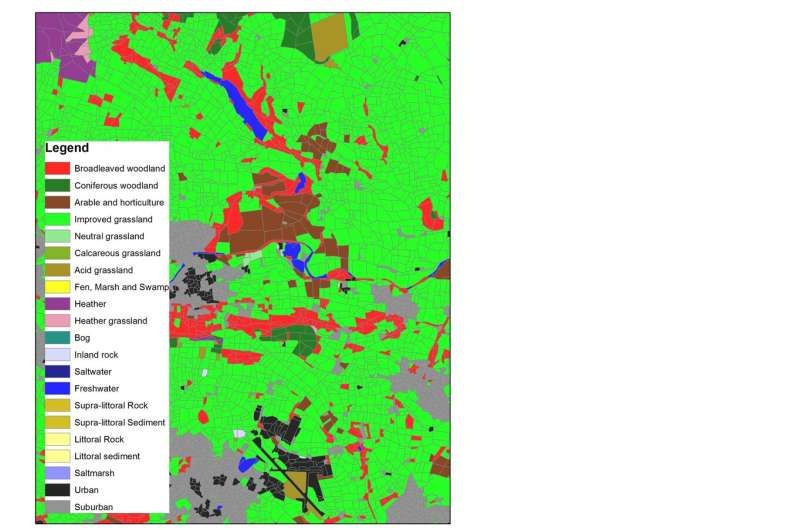 Almost 2 million acres of GB grassland lost as woodland and urban areas expand