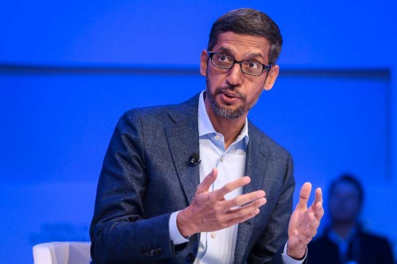 """Alphabet and Google CEO Sundar Pichai said """"we've marshalled our resources"""" to help assist people during the coronavir"""