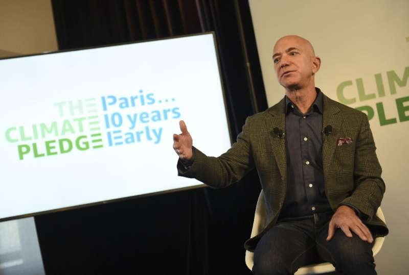 Amazon founder and CEO Jeff Bezos last year announced the tech giant would speed up its efforts to reduce carbon emissions and e