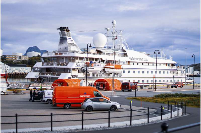 Another cruise ship in Norway stalled over virus case