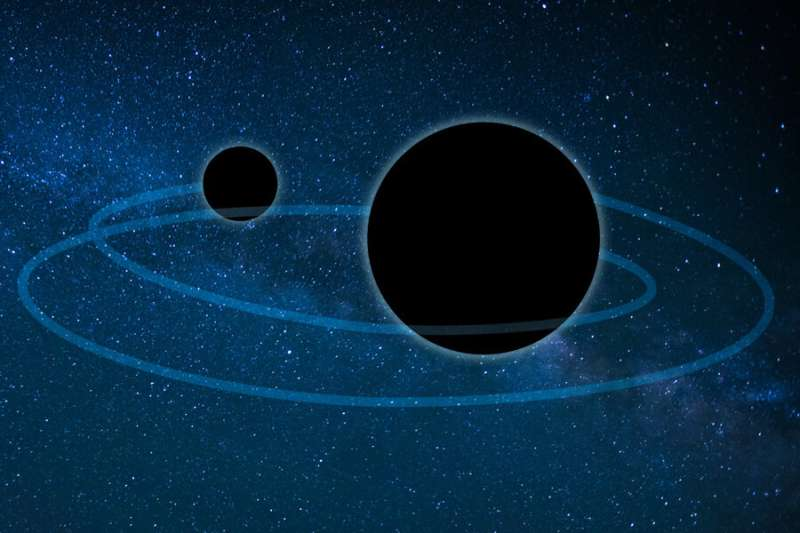 An unexpected origin story for a lopsided black hole merger