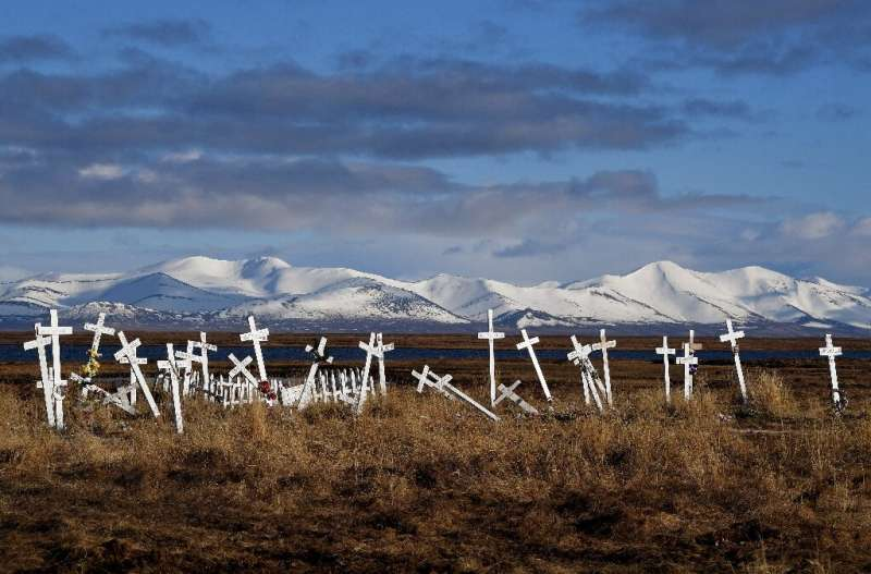 As global warming melts permafrost such as the Alaskan tundra, what new threats will be unfrozen?