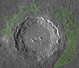 Asteroid shower on the Earth-Moon system 800 million years ago revealed by lunar craters