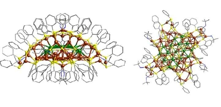 Atomically precise nanocluster may provide fresh direction for nanocatalysts