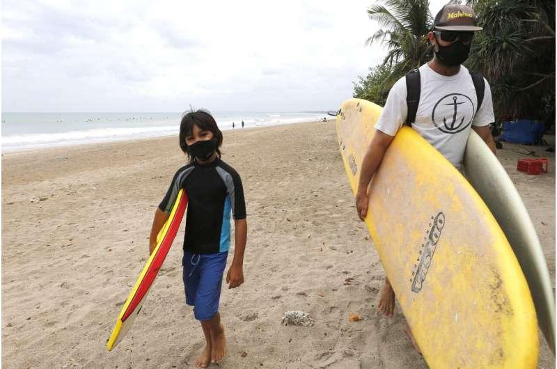 Bali island begins to reopen after 3-month virus lockdown