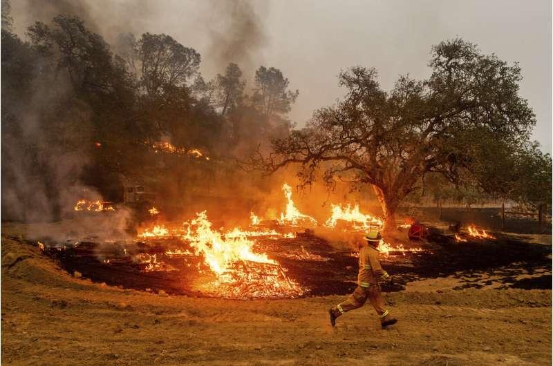 Better weather won't keep California from grim fire landmark