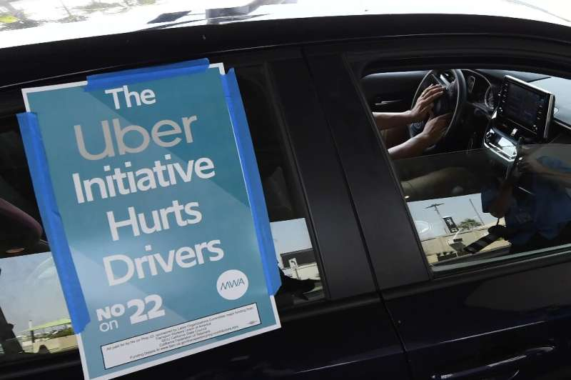 California voters approved a referendum allowing ride-hailing giants to keep their model of using independent contractors, effec