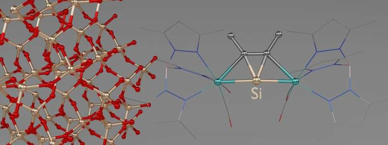 Chemists synthesize 'flat' silicon compounds