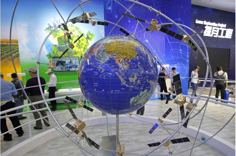 China celebrates completion of rival sat navigation system