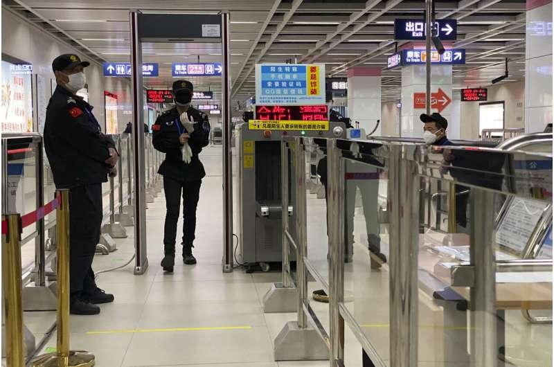 Chinese smartphone health code rules post-virus life