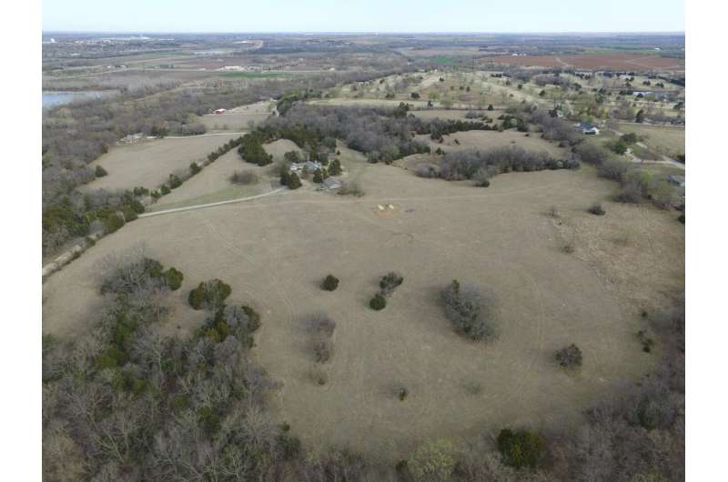 Drone survey reveals large earthwork at ancestral Wichita site in Kansas