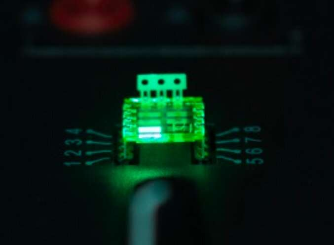 Efficient light-emitting diodes made by depositing perovskites on a fluoride interface