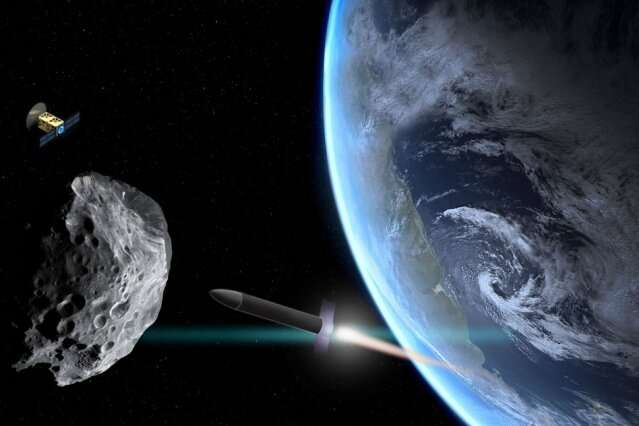 Engineers devise a decision map to identify the best mission type to deflect an incoming asteroid