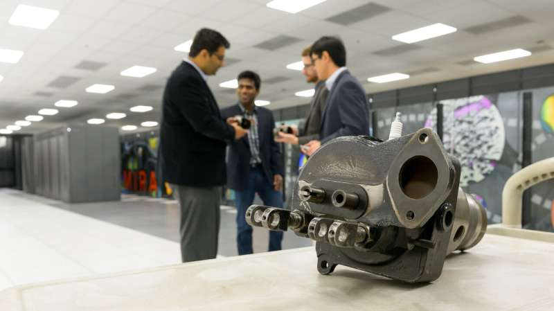Engineers streamline jet engine design