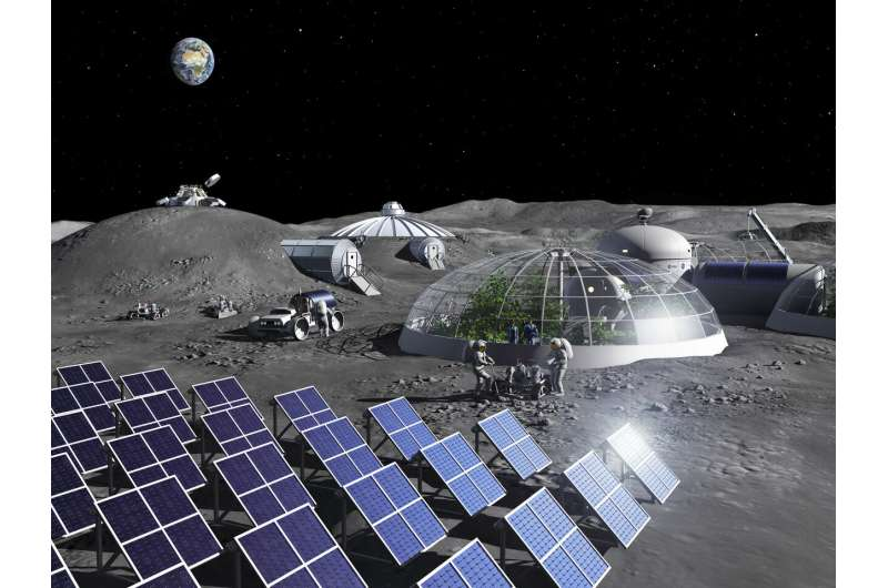 ESA opens oxygen plant, making air out of moondust