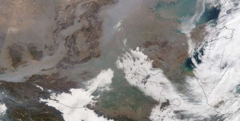 Even during pandemic lockdown, air quality remained poor in parts of China