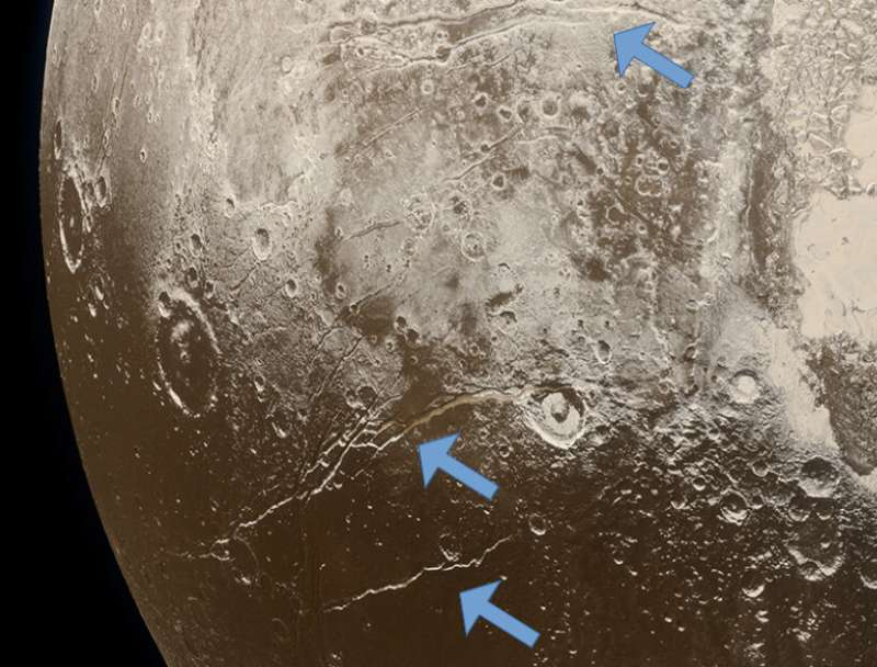 Evidence supports 'hot start' scenario and early ocean formation on Pluto