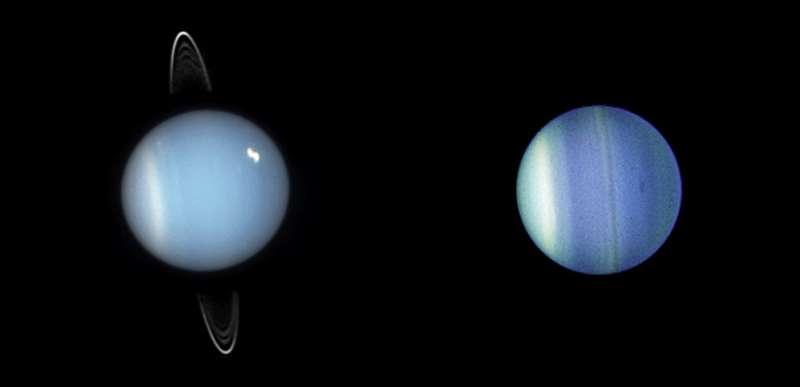 Examining ice giants with NASA's Webb telescope