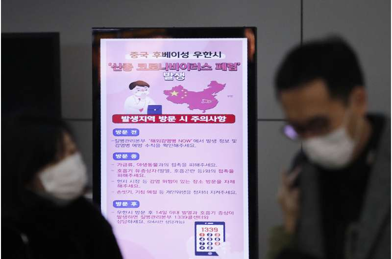 Experts prepare but new China virus not a pandemic yet