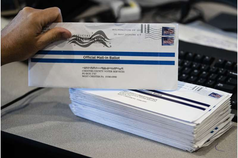 Facebook says it's promoting accurate info on vote-by-mail