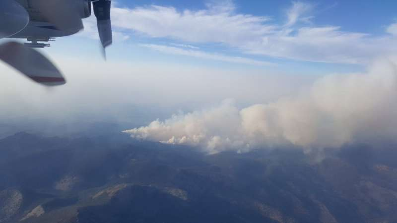 Flying through wildfire smoke plumes could improve smoke forecasts