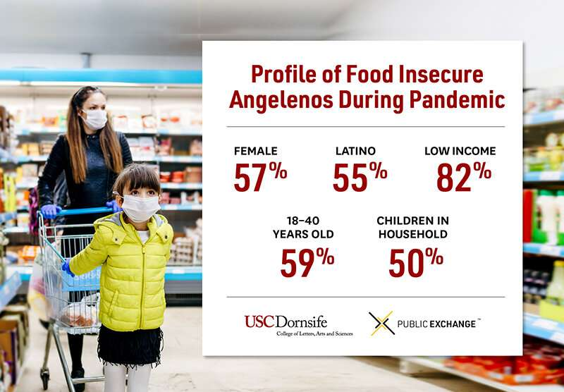Food insecurity expands beyond low-income Angelenos during the pandemic