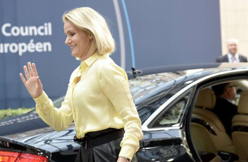 Former Danish prime minister Helle Thorning-Schmidt, seen in a 2015 photo, is one of the chairs of Facebook's independent oversi