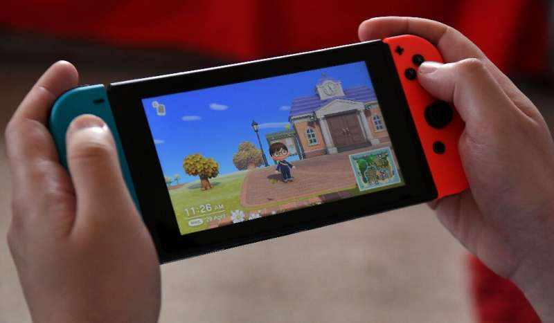 Games like Nintendo's Animal Crossing gained ground during the virus lockdowns, helping to fuel record sales in the sector in th