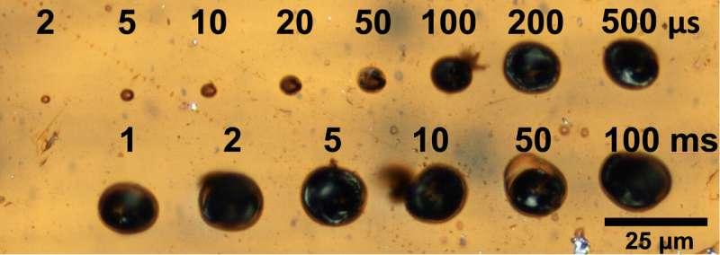 Graphene forms under microscope's eye