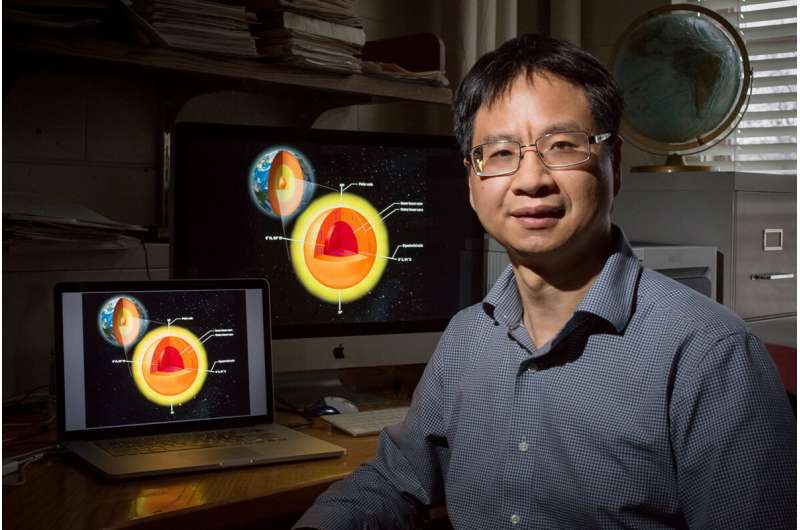 Growing mountains or shifting ground: What is going on in Earth's inner core?