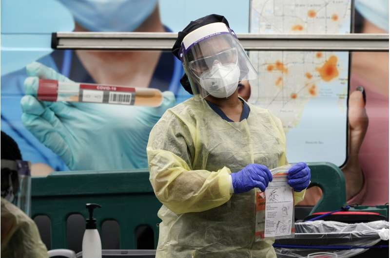 Hopeful sign: Midwestern states see drop in new virus cases