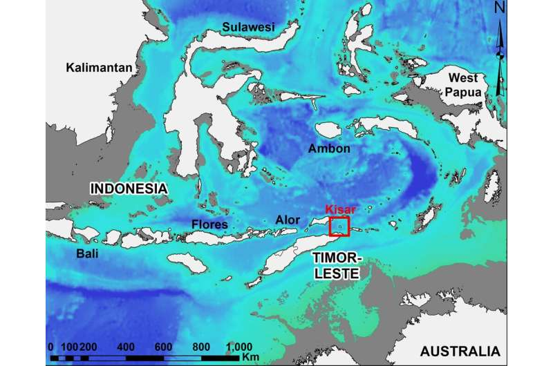 How climate change affected foraging patterns of prehistoric humans in Indonesia