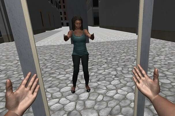 How does immersive reality affect implicit racial bias?