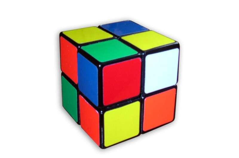 How hard is it to scramble Rubik's Cube?