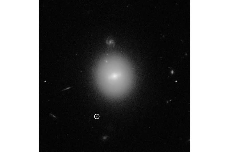 Hubble finds best evidence for elusive mid-sized black hole