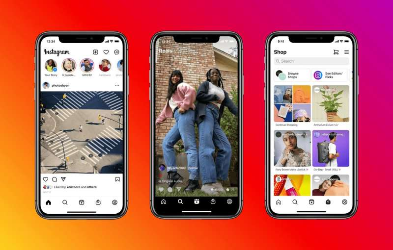 Instagram adds Reels, Shop tabs in its home screen, removes Search, Notifications tabs