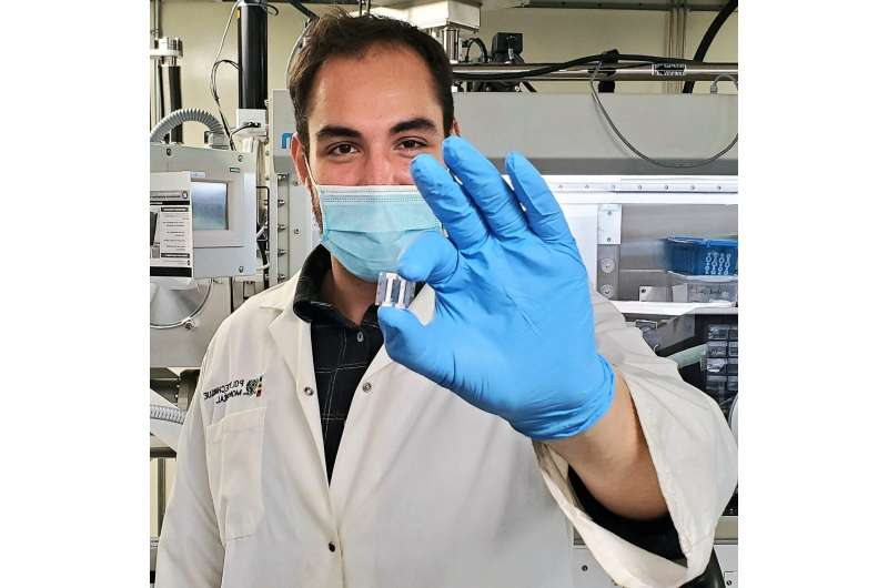 Invisible organic light-emitting diodes reach new world record