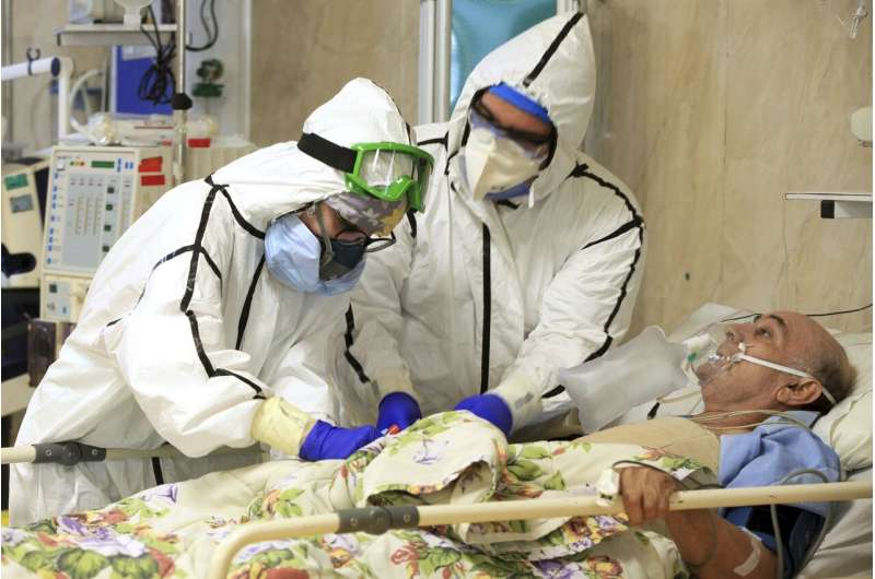 Iran passes grim milestone of 40,000 deaths from coronavirus