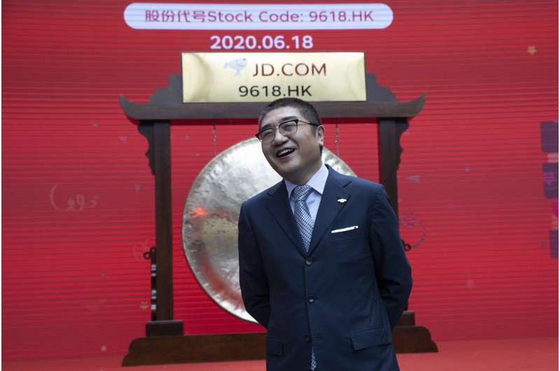 JD.com racks up $38B in sales in annual online shopping fest