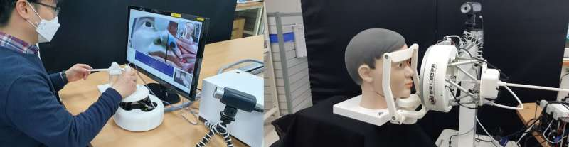 KIMM develops remote specimen collection robot