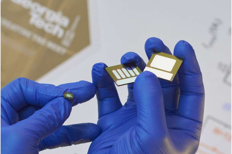 Large-area flexible organic photodiodes can compete with silicon devices