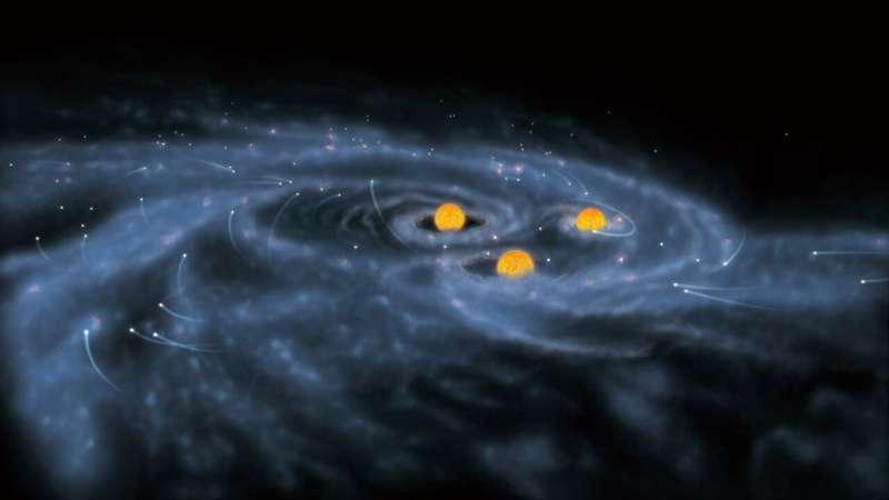 Large simulation finds new origin of supermassive black holes