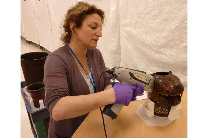 Lead white pigments on Andean drinking vessels provide new historical context
